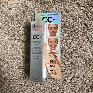 it Cosmetics CC cream in medium shade